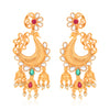 Sukkhi Antique Peacock Gold Plated Kundan Earring for Women