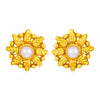 Sukkhi Brilliant Gold Plated Pearl Stud Stud for Women