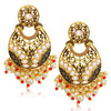 Sukkhi Sparkling LCT Gold Plated Pearl Chandelier Earring For Women