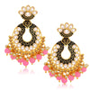 Sukkhi Exclusive LCT Gold Plated Chandelier Earring For Women