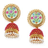 Sukkhi Astonish Gold Plated Pearl Jhumki Earring for Women