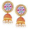 Sukkhi Classic Gold Plated Pearl Jhumki Earring for Women