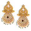 Sukkhi Stunning Gold Plated Austrian Diamond Dangle Earring for Women