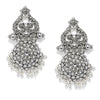 Sukkhi Lavish Oxidised Plated Pearl Dangle Earring for Women