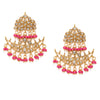 Sukkhi Exotic Gold Plated Kundan Chandelier Earring for Women