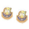 Sukkhi Sober Gold Plated Pearl Chandbali Earring for Women