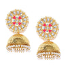 Sukkhi Splendid Kundan Gold Plated Pearl Jhumki Earring for Women