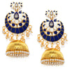 Sukkhi Glitzy Meenakari Gold Plated Pearl Jhumki Earring for Women
