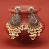 Sukkhi Glorious Gold Plated Pearl Chandbali Earring For Women
