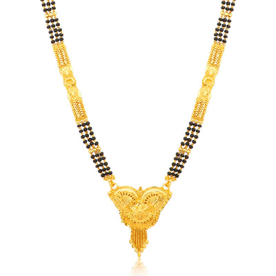 Sukkhi Moddish Gold Plated Mangalsutra for women