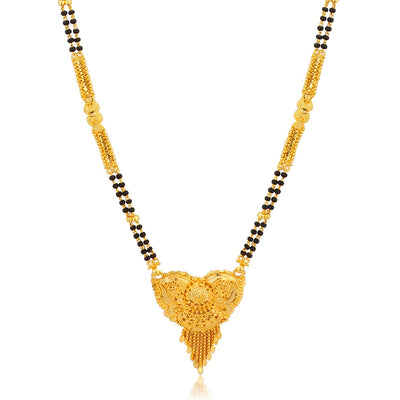 Sukkhi Stylish Gold Plated Mangalsutra for women