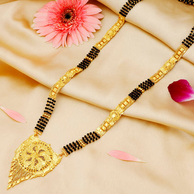 Sukkhi Marvellous Gold Plated Mangalsutra for women