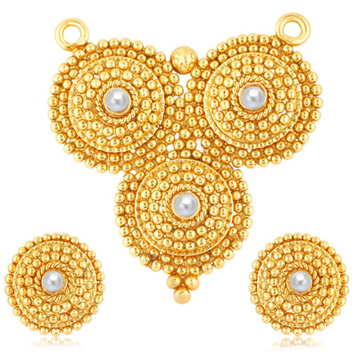 Sukkhi Finely Gold Plated Mangalsutra Set For Women-1