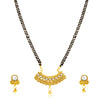 Sukkhi Cluster Gold Plated Jalebi Jalebi Mangalsutra for Women