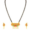 Sukkhi Excellent Gold Plated Colourful Stone Mangalsutra for Women