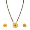 Sukkhi Fine Gold Plated Leafy Leafy Mangalsutra for Women
