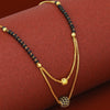 Sukkhi Etnic Gold Plated Double Layer Mangalsutra For Women