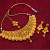 Sukkhi Bollywood Collection Incredible Classic Gold Plated Kundan Choker Necklace Set for Women