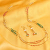 Sukkhi Bollywood Collection Modern String Gold Plated Necklace Set for Women