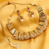 Sukkhi Bollywood Collection Reversible Graceful Gold Plated Necklace Set for women