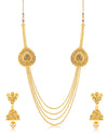 Sukkhi Moddish 4 String Jalebi Design Necklace set for women