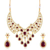 Sukkhi Moddish Gold Plated necklace set for women