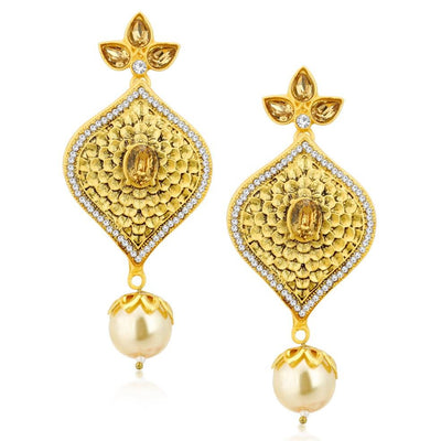Sukkhi Bollywood Collection Angelic Gold Plated Necklace Set For Women