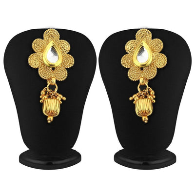 Sukkhi Delightly Gold Plated Jalebi Necklace Set For Women