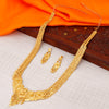 Sukkhi Lavish Gold plated Rani Haar Necklace Set for Women