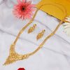 Sukkhi Brilliant Gold plated Long Haram Necklace Set for Women