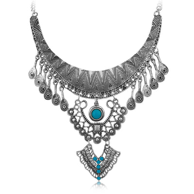 Sukkhi Gorgeous Oxidised Necklace for Women