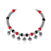 Sukkhi Shimmering Oxidised Choker Necklace for Women