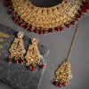 Sukkhi Classic LCT Gold Plated Choker Neckalce Set for Women