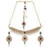 Sukkhi Incredible Kundan Gold Plated Choker Neckalce Set for Women