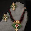Sukkhi Artistically Mint Collection Gold Plated Neckalce Set for Women