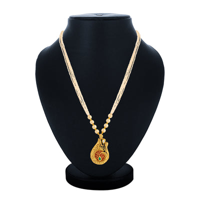 Sukkhi Glamorous Collar Gold Plated Necklace Set for Women