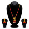 Sukkhi Stunning Long Haram Gold Plated Necklace Set Set for Women