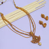 Sukkhi Incredible LCT Gold Plated Multi-String Necklace Set For Women