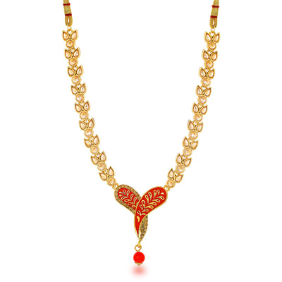 Sukkhi Beguiling Collar Gold Plated Necklace for Women