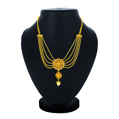 Sukkhi Excellent Collar Gold Plated Necklace for Women