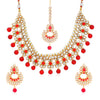 Sukkhi Spectacular Gold Plated Necklace Set for Women