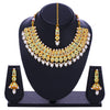 Sukkhi Ravishing Gold Plated Mint Collection Choker Necklace Set for Women