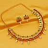 Sukkhi Designer Gold Plated Choker Necklace Set For Women