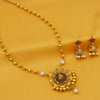 Sukkhi Equisite Gold Plated Pearl Necklace Set For Women