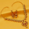 Sukkhi Ethnic Gold Plated Elephant Inspired Necklace Set For Women