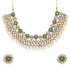 Sukkhi Lavish Kundan Gold Plated Pearl Choker Necklace Set for Women