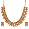 Sukkhi Eye Catching Gold Plated Goddess Laxmi Collar Necklace Set for Women