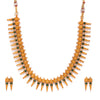 Sukkhi Artistically Gold Plated Collar Necklace Set for Women