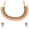 Sukkhi Sensational Gold Plated Austrian Diamond Choker Necklace Set for Women