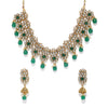 Sukkhi Graceful Kundan Gold Plated Pearl Choker Necklace Set for Women
